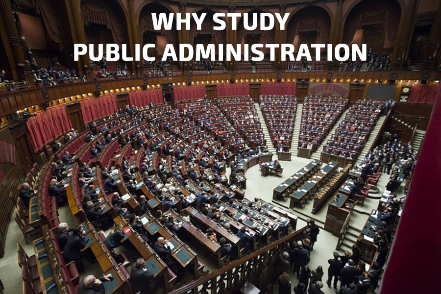 Why study Public Administration?