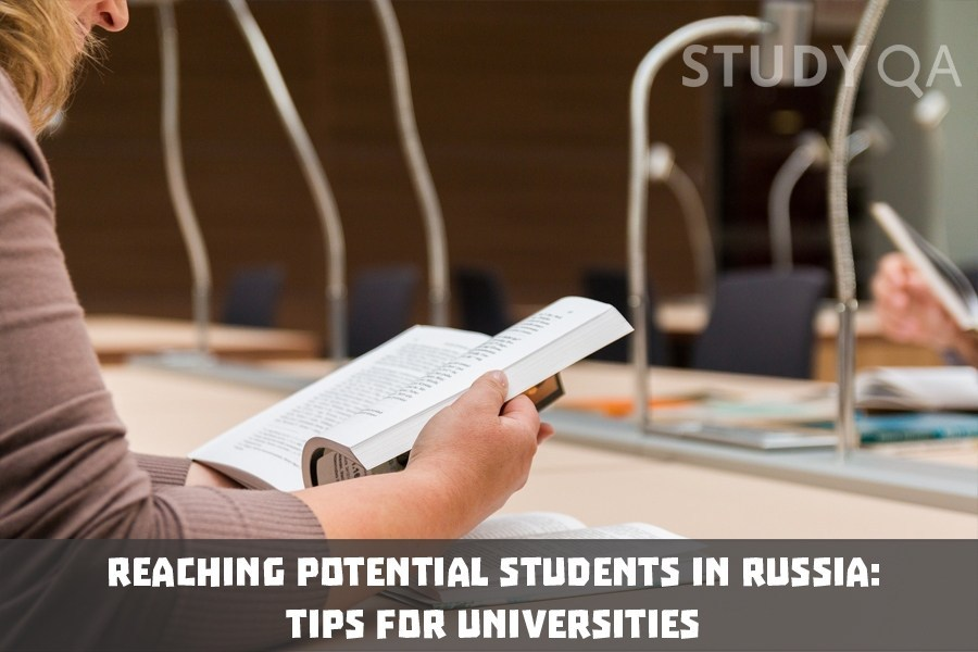 StudyQA: Reaching potential students in Russia: marketing tips for universities