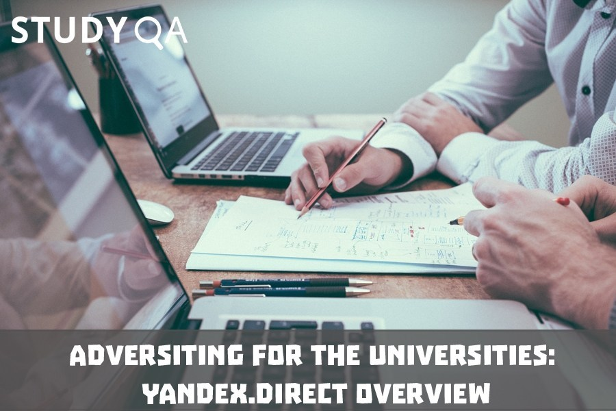 StudyQA: Adversiting for the universities: Yandex.Direct overview