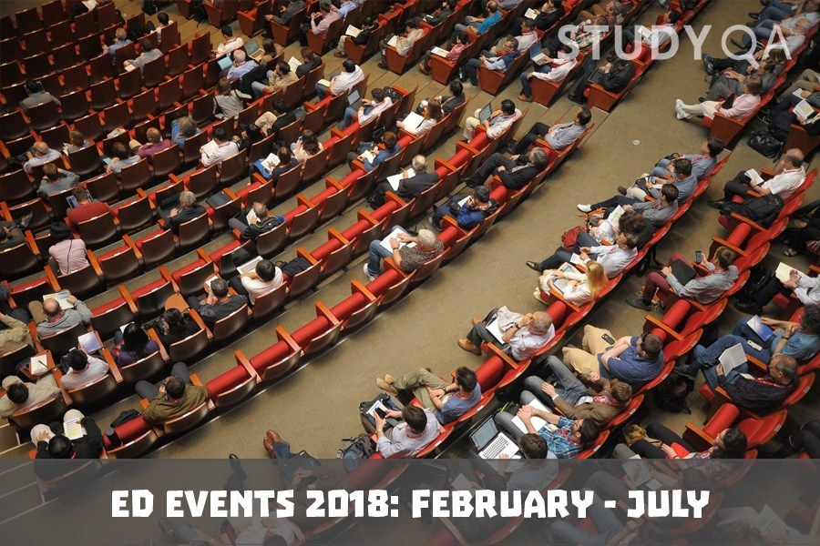 StudyQA: Ed events 2018: February - July