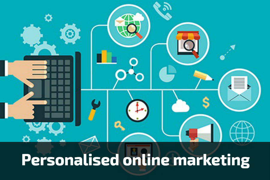 Personalised online-marketing