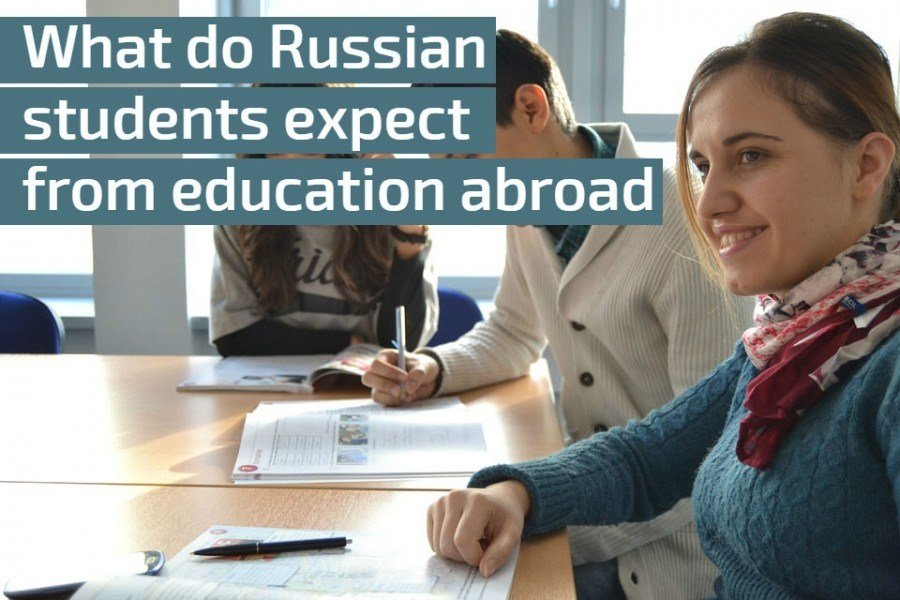 StudyQA: What do Russian students expect from education abroad?