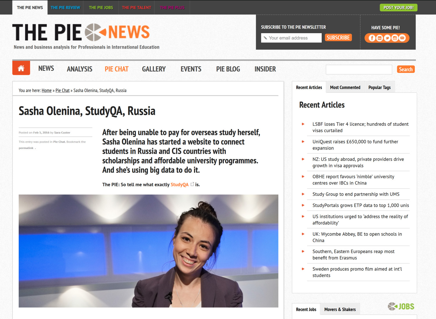 News agencies in Russia and the CIS: a selection of sites