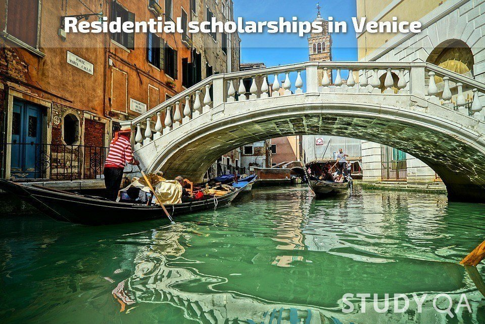3-month residential research scholarships in Venice, Italy