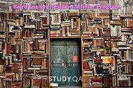 StudyQA: Baird Society Resident Scholar Program for Smithsonian Library Holdings