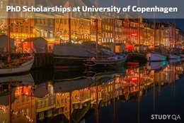 StudyQA: PhD Scholarships at University of Copenhagen, Denmark
