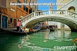 StudyQA: 3-month residential research scholarships in Venice, Italy