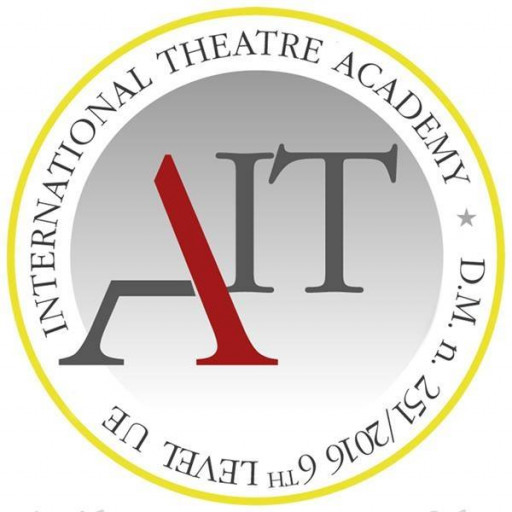 The International Academy of theatre logo